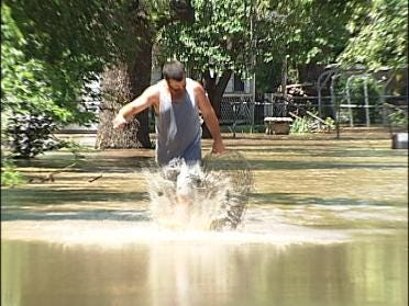 Emergency workers rescue Tulsa residents