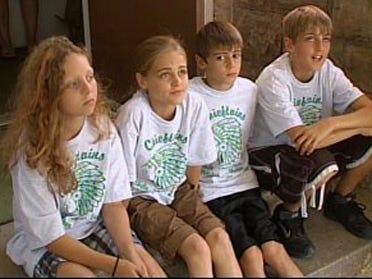 Students raise money for killed classmates