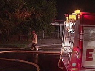 Woman injured in house fire