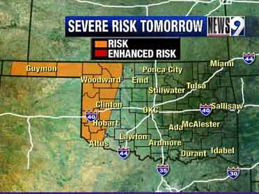 Strong to severe thunderstorms likely Friday
