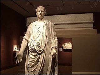 Roman art exhibit opens at museum