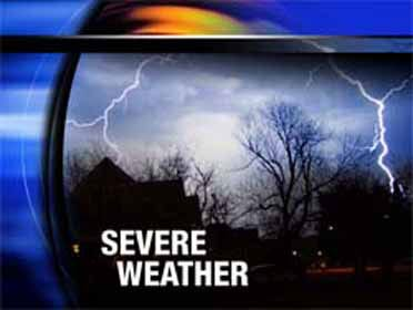 Severe storms possible late Sunday into Monday morning