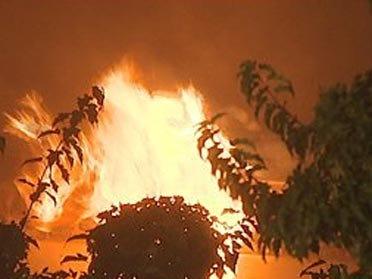 Blaze destroys Edmond home