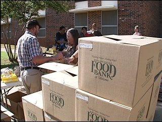 Food bank feeds Oklahomans