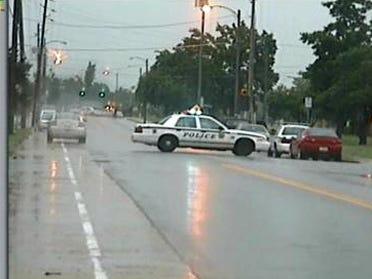 Homicide suspect involved standoff ends