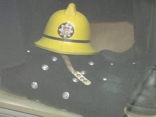 Oklahoma's first fire station on exhibit