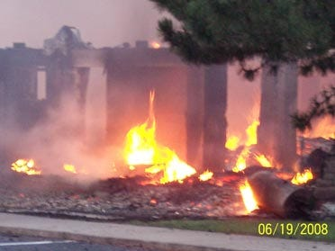 Altus church burns to ground