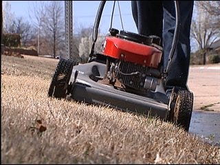 Be safe with your lawn mower