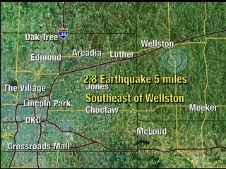 Earthquake rumbles Lincoln County
