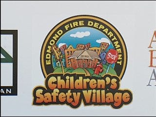Firefighters build Children's Safety Village