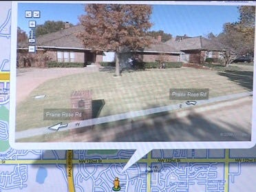 Google offers street view of Oklahoma City