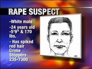 Police continue to search for rape suspect