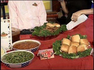 Texas Roadhouse recipe for Fourth of July sandwich