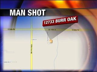 Man shot in the head dies