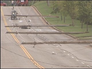 Power outages remain across metro