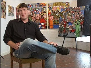Artist paints up controversy