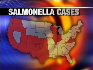 Salmonella threatening restaurants, grocers