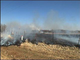 Firefighters battle northwest metro blaze