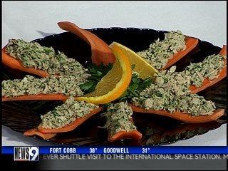 Tuna and carrot bites