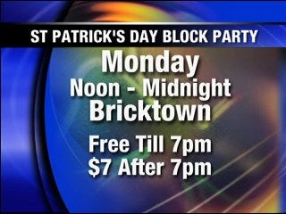 Bricktown celebrates Saint Patrick's Day