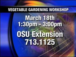 Vegetable Garden Workshop to be offered