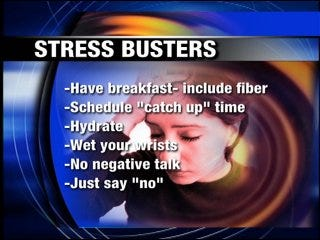 Don't let stress rule your life