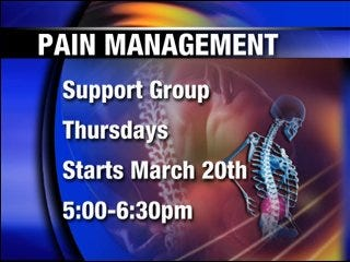 Mercy Hospital offers chronic pain support