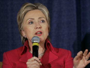 Clinton's schedules show her daily activities as first lady