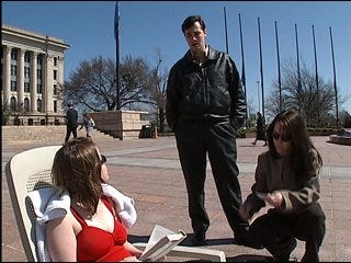 College student spends spring break at Capitol