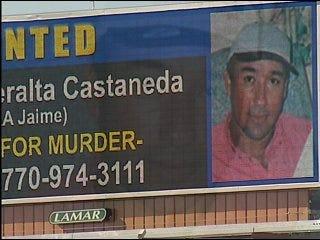 Georgia murder suspect on billboards