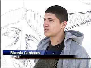 Teens focus on art instead of crime
