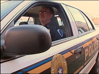Police deal with rising gas prices