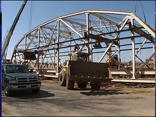 Payne County recycles old bridge