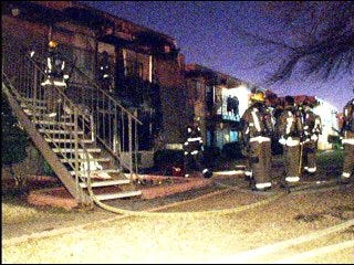 Arrests made in apartment fire ring