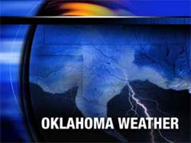 Clouds, chance for rain in state