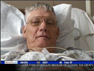 Defibrillator vest saves man's life