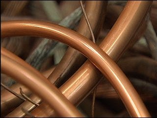 Police seek tougher laws on copper theft