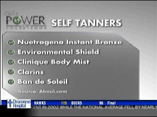 Shoe wear and self tanners, deals for spring