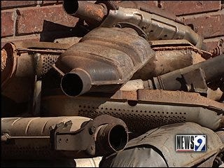 Thieves target catalytic converters, police say