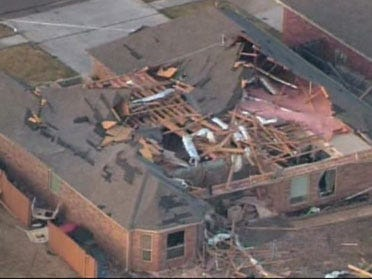 Storms leave trail of damage across state
