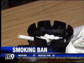 Bill to ban smoking won't pass, says senator