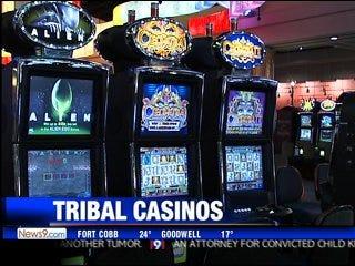 Tribal casinos bet on education