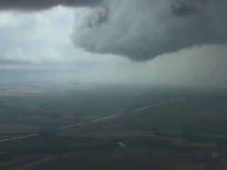 Web Extra: Tornado coverage from Sky NEWS 9 HD