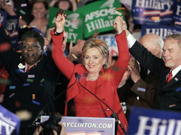 Clinton wins big in Tuesday's primaries
