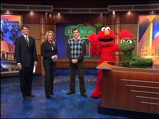 Sesame Street comes to town
