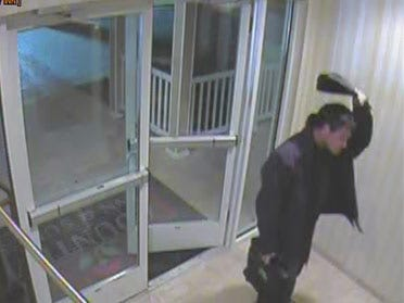 Video, photo of suspected hotel burglar released