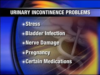 Addressing urinary incontinence
