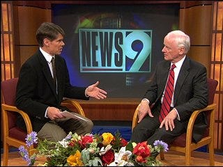 Former governor talks about new job