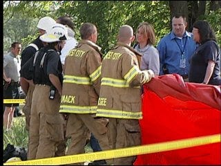 Police rule Midwest City fire suicide