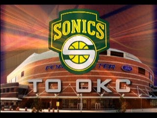 Seattle files lawsuit, Sonics still plan move